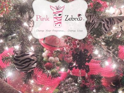 tags business candles christmas discount ezpz family fragrance home decor income network marketing opportunities opportunity pink pink zebra - Christmas Zebra Decorations